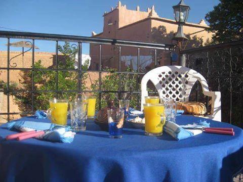 Hotel Amskou à Boumalne gorges dades Maroc